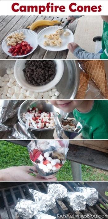 Campfire desserts